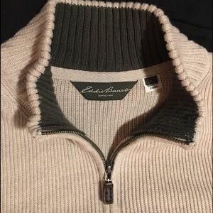 Eddie Bauer 1/4 zip Sweater Never Worn sz XL